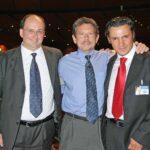 Michele Maggi con Larry Williams e Emiliano Monza